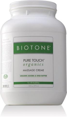 Biotone Pure Touch Organics Massage Cream 1 Gallon