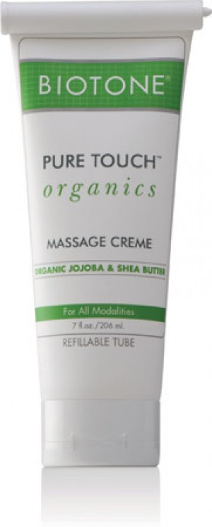 Biotone Pure Touch Organic Massage Cream 7 oz.