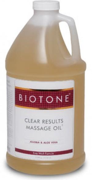Biotone Clear Results Massage Oil 1 Gallon