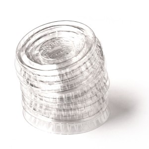 Lid for 1 oz. Plastic Souffle Cup 125/slv