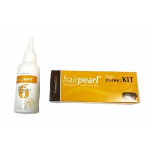 Hairpearl Tint Trial Kit - Brown